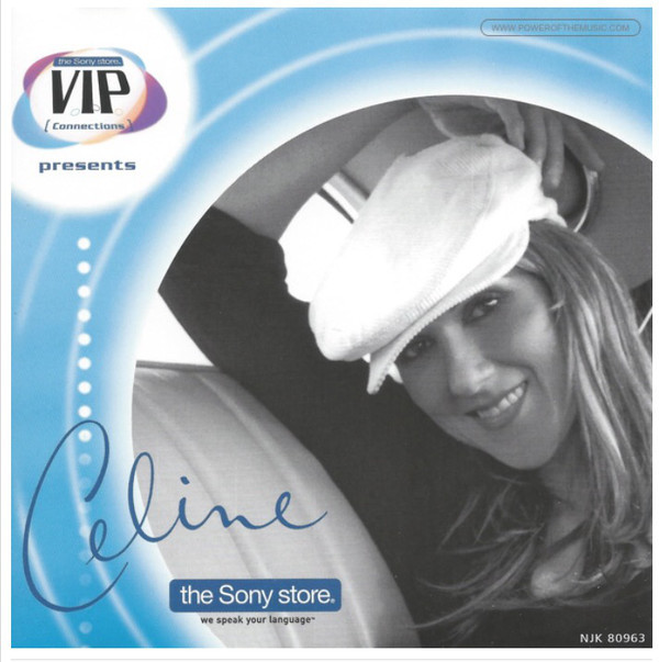 CELINE (VIP) SAMPLER CD CANADA /CELINE DION-CD-DISQUES-RECORDS-BOUTIQUE VINYLES-COLLECTORS