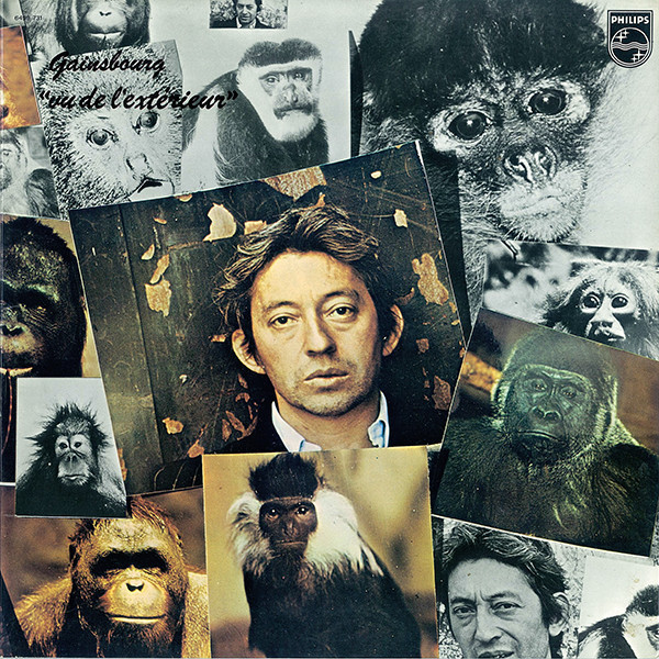 VUE DE L'EXTERIEUR LP / GAINSBOURG-CD-DISQUES-RECORDS-VINYLS-MUSICSHOP-COLLECTORS