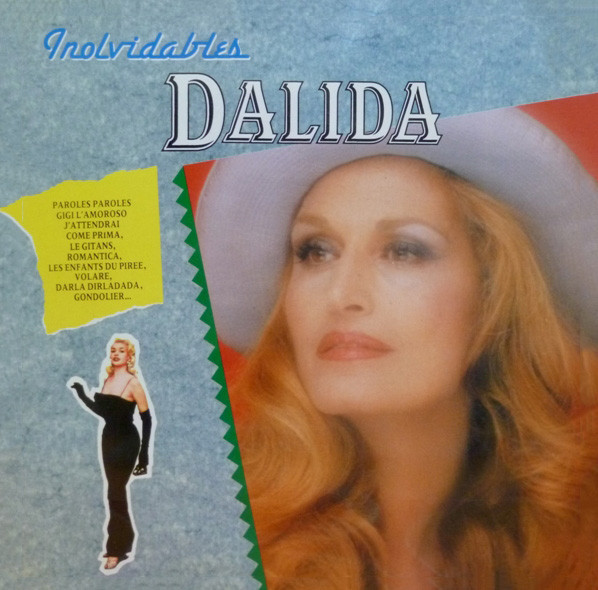 INOLVIDABLES DALIDA LP SPAIN / DALIDA  - CD - RECORDS -  BOUTIQUE VINYLES