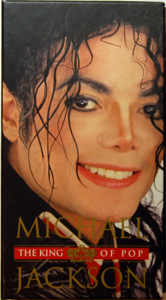 THE KING OF BOX BOX CD/ DVD / LIVRE ITALIE MICHAEL JACKSON-CD-DISQUES-RECORDS-VINYLES-STORE-BOUTIQUE