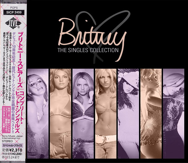 THE SINGLES COLLECTION CD JAPON / BRITNEY SPEARS-CD-DISQUES-RECORDS-VINYLES-COLLECT
