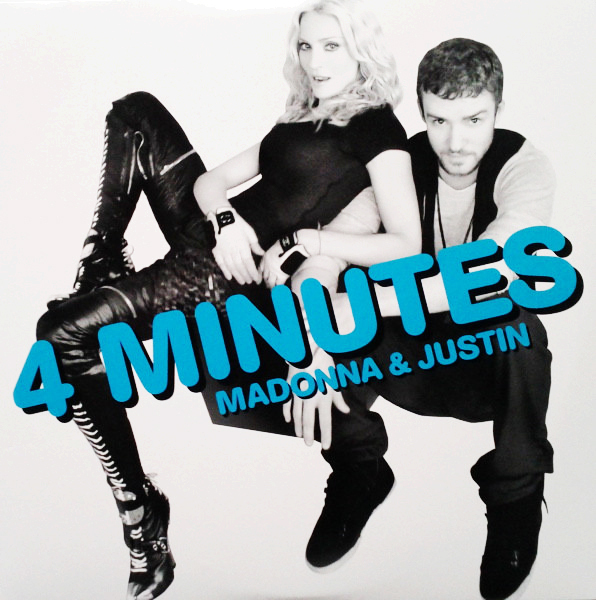 4 MINUTES CD SINGLE FRANCE / MADONNA-CD-DISQUES-RECORDS-VINYLS-COLLECTORS-BOUTIQUE-VINYLS