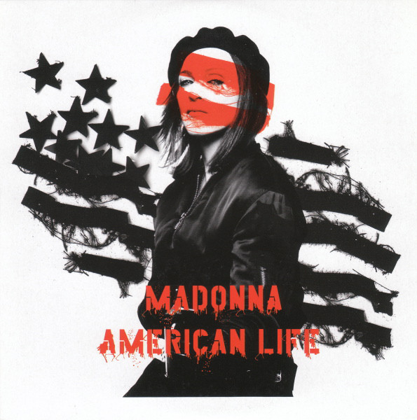AMERICAN LIFE CD SINGLE EUROPE/ MADONNA-CD-DISQUES-RECORDS-BOUTIQUE VINYLES-SHOP-STORE-COLLECTORS