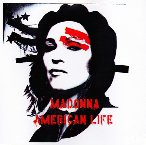 AMERICAN LIFE CD SAMPLER  EUROPE / MADONNA-CD-DISQUES-RECORDS-BOUTIQUE VINYLES-SHOP-COLLECTORS