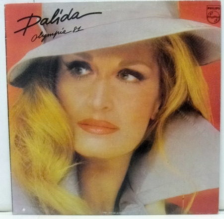 OLYMPIA 81 LP GREECE / DALIDA-CD-RECORDS-BOUTIQUE- VINYLS-COLLECTORS-DISQUES