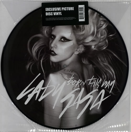 BORN THIS WAY PICTURE DISC EUROPE / LADY GAGA-CD-RECORDS-VINYLS-COLLECTORS-STORE-SHOP