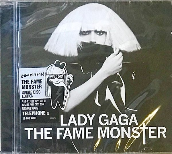 THE FAME MONSTER CD KOREA / LADY GAGA-CD-RECORDS-VINYLS-COLLECTORS-STORE-SHOP