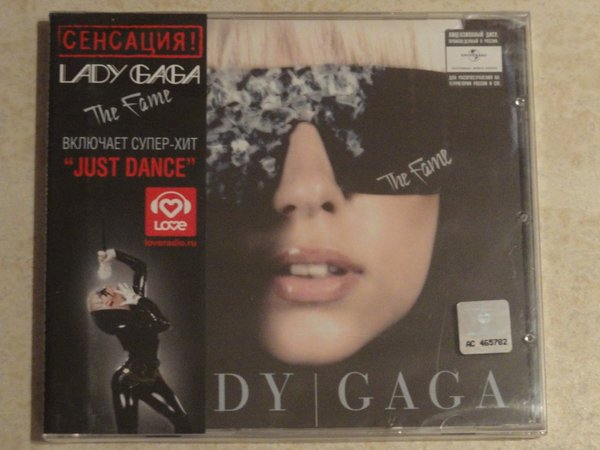 THE FAME CD RUSSIA / LADY GAGA-CD-RECORDS-VINYLS-COLLECTORS-STORE-SHOP