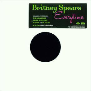 EVERYTIME 12 MAXI USA SAMPLER  / BRITNEY SPEARS-CD--LPS- VINYLS-SHOP-COLLECTORS-STORE-AWARDS