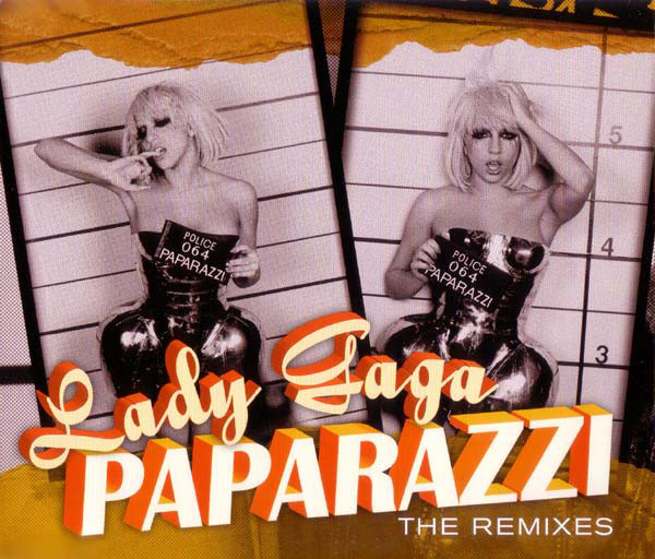 PAPARAZZI CD MAXI GERMANY / LADY GAGA-CD-DISQUES-RECORDS-STORE-LPS-VINYLS-SHOP-COLLECTORS-AWARDS