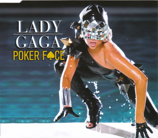 POKER FACE CD MAXI EUROPE / LADY GAGA-CD-DISQUES-RECORDS-STORE-LPS-VINYLS-SHOP-COLLECTORS-AWARDS