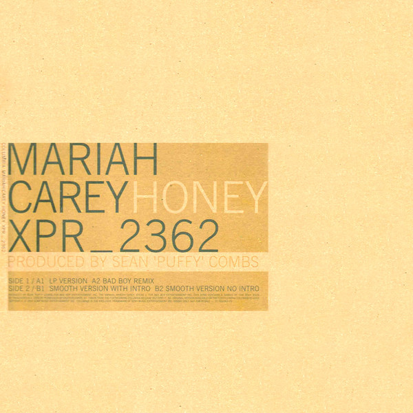 HONEY 12 MAXI SAMPLER UK MARIAH CAREY-RECORDS-STORE-LPS-VINYLS-SHOP-COLLECTORS-AWARDS