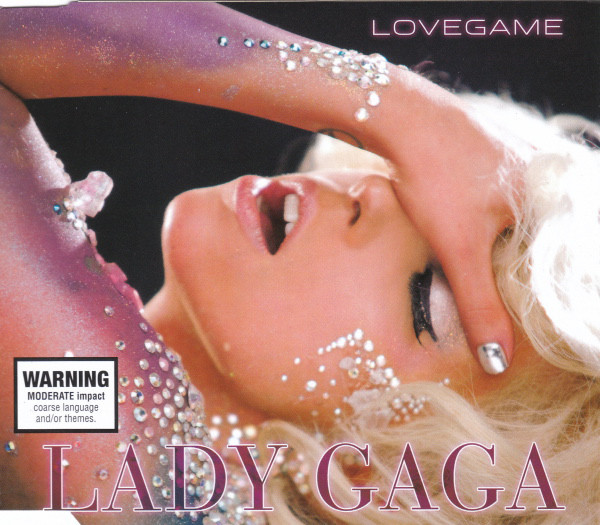 LOVEGAME CD  SINGLE AUSTRALIA / LADY GAGA-CD-DISQUES-RECORDS-VINYLS-MUSICSHOP-COLLECTORS-STORE-LPS