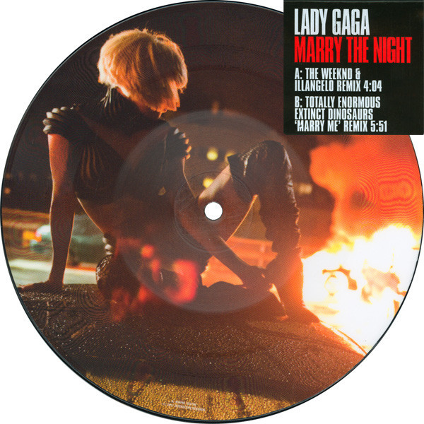 MARRY THE NIGHT 7 PICTURE DISC/ LADY GAGA-CD-DISQUES-RECORDS-STORE-LPS-VINYLS-SHOP-COLLECTORS-AWARDS