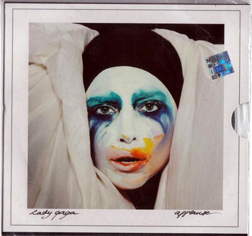 APPLAUSE CD SINGLE INDIA / LADY GAGA-CD-DISQUES-RECORDS-STORE-LPS-VINYLS-SHOP-COLLECTORS-AWARDS