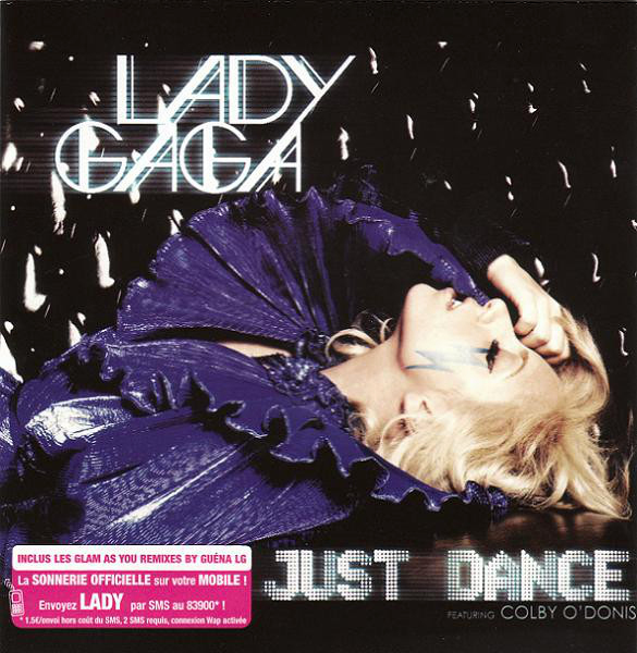 JUST DANCE CD SINGLE FRANCE / LADY GAGA-CD-DISQUES-RECORDS-VINYLS-MUSICSHOP-COLLECTORS-STORE-LPS