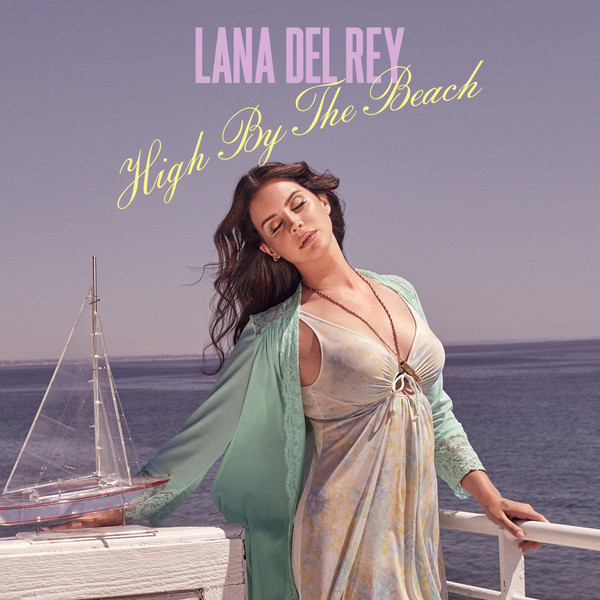 HIGH BY THE BEACH CD SAMPLER FRANCE LANA DEL REY-CD-DISQUES-RECORDS-STORE-LPS-VINYLS-SHOP-COLLECTORS