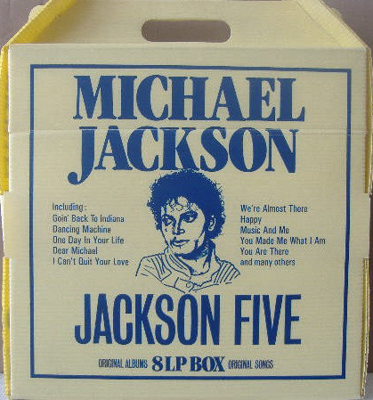 8 LP BOX USA  MICHAEL JACKSON-CD-RECORDS-VINYLS SHOP-COLLECTORS