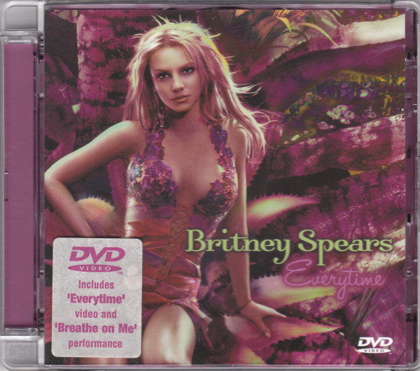EVERYTIME DVD UK / BRITNEY SPEARS-CD--LPS- VINYLS-SHOP-COLLECTORS-STORE-AWARDS
