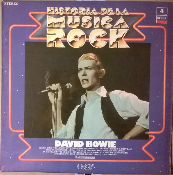 DAVID BOWIE 33T ESPAGNE /  DAVID BOWIE - CD - DISQUES - RECORDS -  BOUTIQUE VINYLES