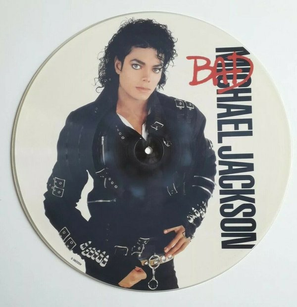 BAD PICTURE DISC UK / MICHAEL JACKSON-CD-RECORDS-VINYLS SHOP-COLLECTORS