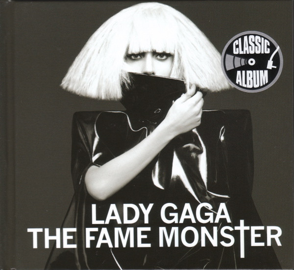 THE FAME MONSTER CD EUROPE DIGIBOOK   /LADY GAGA-CD-RECORDS-BOUTIQUE-VINYLS-LPS-SHOP-STORE-VINYLS-