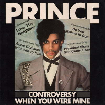 CONTROVERSY MAXI 45T UK  PRINCE-CD-DISQUES-RECORDS-BOUTIQUE VINYLES-RECORDS
