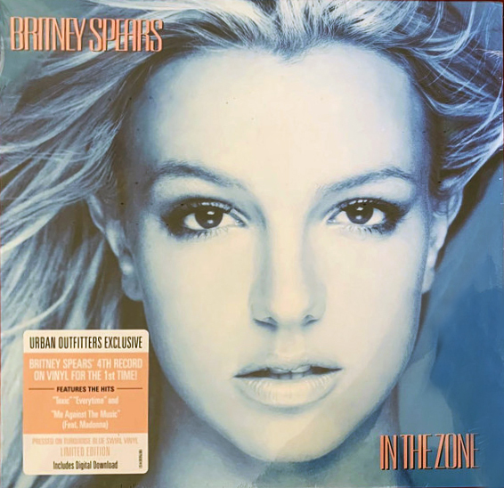 IN THE ZONE 33T USA  / BRITNEY SPEARS-CD-DISQUES-BOUTIQUE VINYLES-SHOP-COLLECTORS-STORE