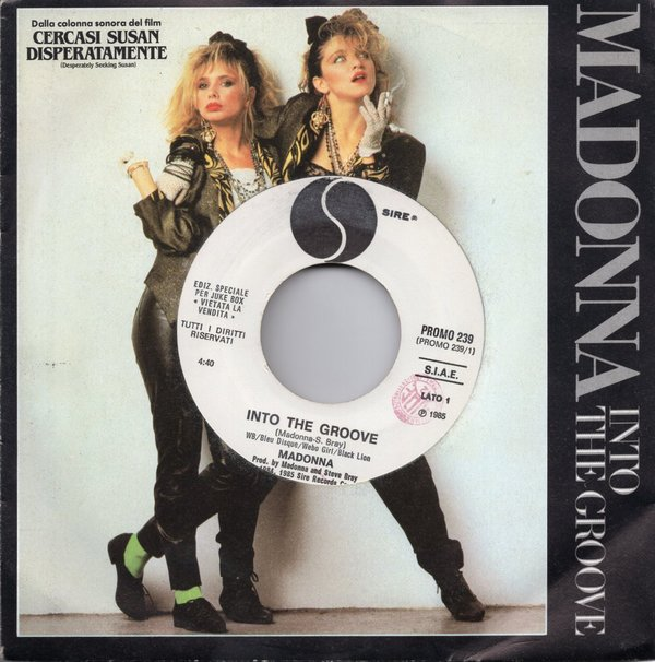 INTO THE GROOVE 7 SAMPLER ITALIA MADONNA-CD-LPS-RECORDS-BOUTIQUE VINYLES-SHOP-COLLECTORS