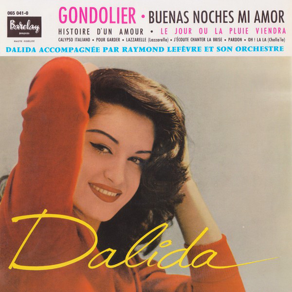 GONDOLIER 10 INCHES FRANCE / DALIDA-CD-RECORDS-BOUTIQUE- VINYLS-COLLECTORS-DISQUES