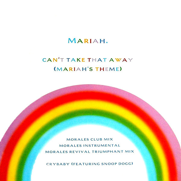 CAN'T TAKE  12 MAXI  SAMPLER UK  MARIAH CAREY-RECORDS-STORE-LPS-VINYLS-SHOP-COLLECTORS-AWARDS