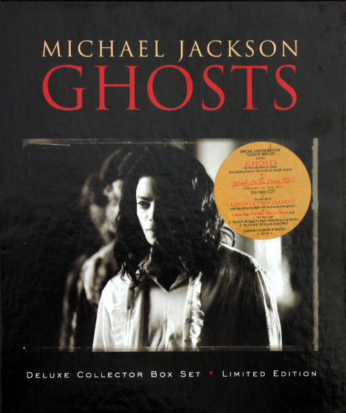GHOSTS   BOX  EUROPE  / MICHAEL JACKSON- CD - DISQUES - RECORDS -  VINYLES