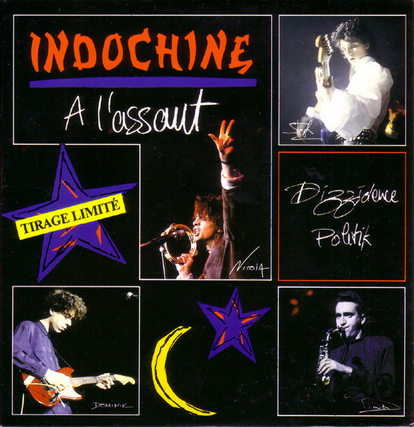 A L 'ASSAUT 45T FRANCE / INDOCHINE-CD-DISQUES-RECORDS-VINYLS-MUSICSHOP-COLLECTORS