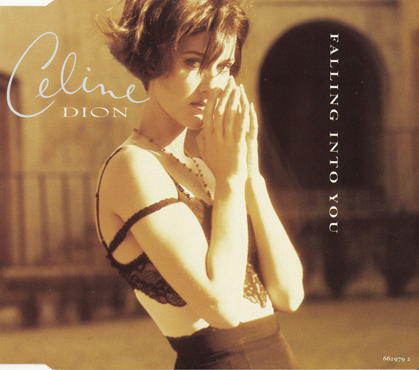 FALLING INTO YOU CD MAXI UK  CELINE DION-CD-DISQUES-LPS-VINYLS-SHOP-COLLECTORS-STORE-AWARDS-M