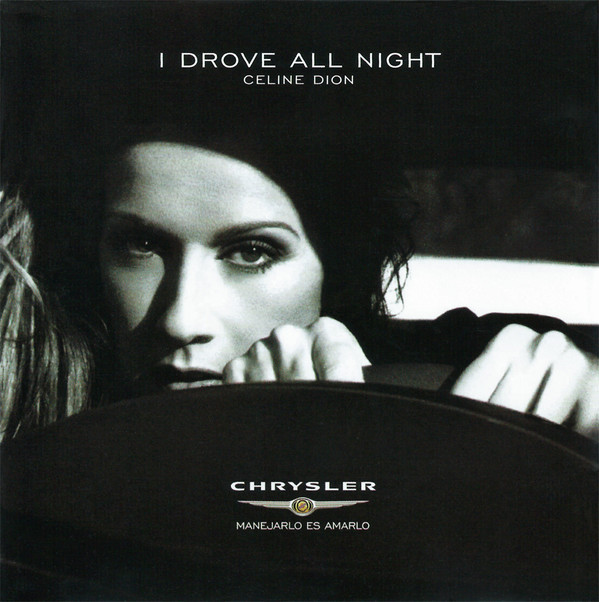 I DROVE ALL NIGHT CD SAMPLER MEXICO / CELINE DION-CD--LPS- VINYLS-SHOP-COLLECTORS-STORE-AWARDS