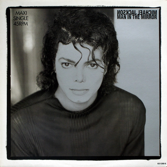 MAN IN THE MIROR 12 INCHES MAXI  UK / MICHAEL JACKSON  - CD - RECORDS -  BOUTIQUE VINYLES